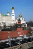 Moscovo Kremlin Foto a cores Imagem de Stock Royalty Free