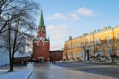 Moscovo Kremlin Foto a cores Fotografia de Stock Royalty Free