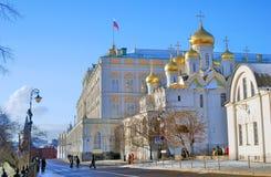 Moscovo Kremlin Foto a cores Foto de Stock Royalty Free