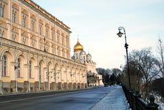 Moscovo Kremlin Foto a cores Fotografia de Stock