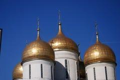 Moscovo Kremlin Local do património mundial do Unesco Foto de Stock Royalty Free