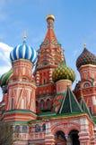 Moscovo Kremlin, quadrado vermelho, catedral de St.Basil Fotos de Stock