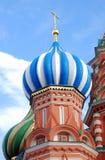 Moscovo Kremlin, quadrado vermelho, catedral de St.Basil Foto de Stock