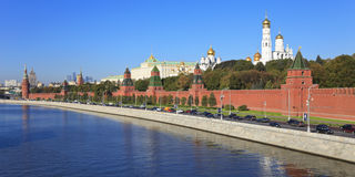 Moscovo Kremlin, Rússia. fotografia de stock royalty free