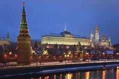 Moscovo Kremlin, Rússia. imagem de stock