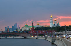 Moscovo Kremlin, Rússia fotografia de stock