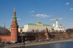 Moscovo Kremlin. Rússia Imagens de Stock Royalty Free