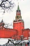 Moscovo Kremlin Torre de Spasskaya, pulso de disparo Fotos de Stock