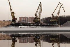 Moscovo portuária norte Foto de Stock Royalty Free
