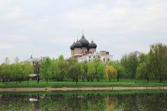 Moscovo, Rússia Igreja da intercessão do Virgin em Izma Fotos de Stock