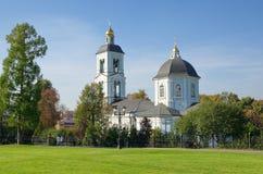 Moscovo, Rússia A igreja da mãe do deus imagens de stock