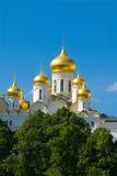 Moscovo. Templo Fotos de Stock