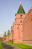 Moscovo. Torres do Kremlin. Fotografia de Stock