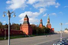 moscow Башни Кремля Стоковые Изображения