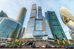 Moscow-Город делового центра стоковые изображения rf