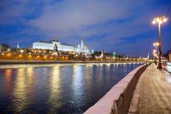 moscow Грандиозный дворец Кремля Стоковое фото RF