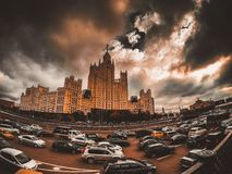 moscow Arkivfoton
