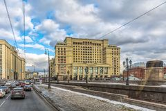 moscow Foto de Stock Royalty Free
