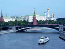 Moscow. View from the Moscow river stock image