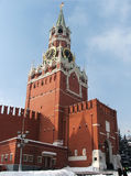 Moscow. A tall building on the red square in moscow Royalty Free Stock Photos