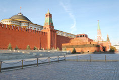 Moscow. Red square in Moscow, Russia Royalty Free Stock Images