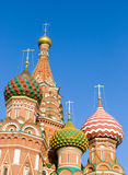 Moscow. The Saint Basil's cathedral, Moscow Royalty Free Stock Photo