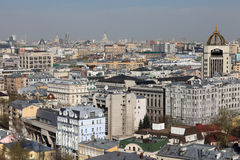 Moscow from above Stock Photo