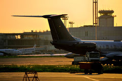 Moscow airport Domodedovo Royalty Free Stock Photos