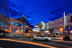 Moscow airport Domodedovo Stock Image