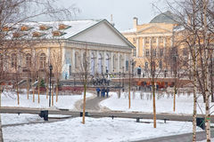 Moscow. Alexander Garden Stock Image