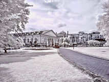 Moscow. Alexander Garden. Infrared photo Stock Photography