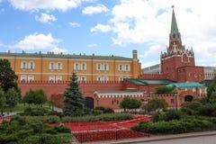 Moscow Alexander Garden near Kreml 5. The Alexander Garden near Kreml in Moscow stock photography