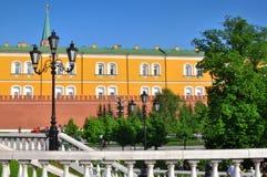 Moscow Alexander garden Royalty Free Stock Image