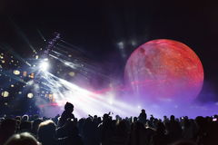 Moscow  annual Festival Stock Photos