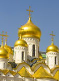 Moscow, Annunciation cathedral of Kremlin Royalty Free Stock Photos