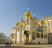 Moscow, Annunciation Kremlin cathedral Royalty Free Stock Photos