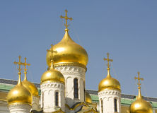 Moscow, Annunciation Kremlin cathedral Stock Image