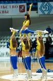 Cheerleaders groupe VIP dance Stock Photos
