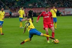 Midfielder Alexei Miranchuk 59 on the soccer game