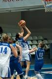 S. Abrosimova(25) in atack Stock Photos