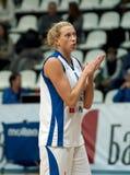 Tatiana Vidmer. Captain of Dynamo MSK team Royalty Free Stock Photos