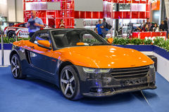 MOSCOW - AUG 2016: BRT Roadster Crimea presented at MIAS Moscow International Automobile Salon on August 20, 2016 in Moscow, Russi Royalty Free Stock Image