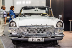 MOSCOW - AUG 2016: GAZ M13 Chaika presented at MIAS Moscow International Automobile Salon on August 20, 2016 in Moscow, Russia Royalty Free Stock Images
