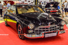 MOSCOW - AUG 2016: GAZ-12 ZIM tuning presented at MIAS Moscow International Automobile Salon on August 20, 2016 in Moscow, Russia Stock Photography