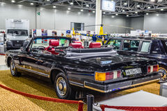 MOSCOW - AUG 2016: ZIL 41041 cabrio presented at MIAS Moscow International Automobile Salon on August 20, 2016 in Moscow, Russia Stock Images