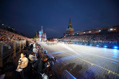 Journalists, Central Military Orchestra  at Military Music Festival Stock Image