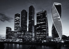MOSCOW - August 04, 2016: Moscow-city. Moscow International Business Center Stock Photography