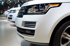 MOSCOW - 29.08.2014 - Automobile Exhibition  Stock Images