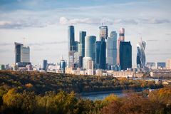 Moscow autumn Royalty Free Stock Photos