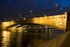 Moscow, Big Moskvoretckiy bridge Royalty Free Stock Photography